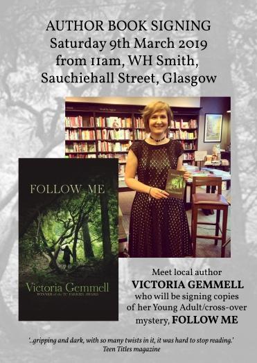 Victoria Gemmell Glasgow poster